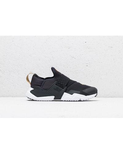 Nike Rubber Huarache Extreme (gs) Black/ Black-metallic Gold - Lyst