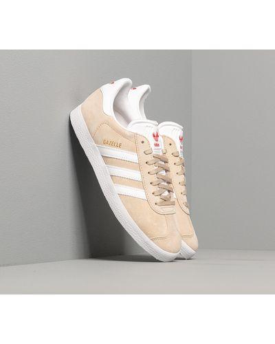adidas Originals Adidas Gazelle W Savanna/ Ftw White/ Glow Red in ...