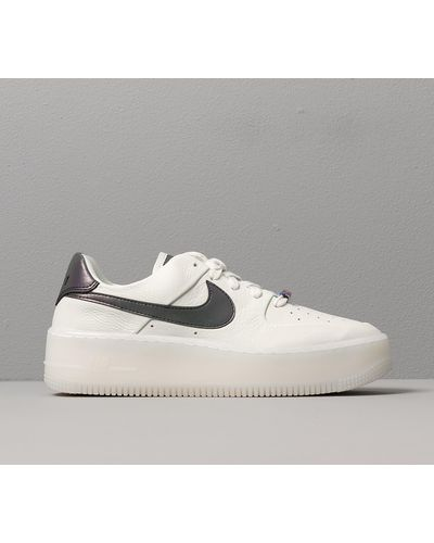 Nike W Air Force 1 Sage Low Lx Spruce Aura/ Blank-white in Blue ...
