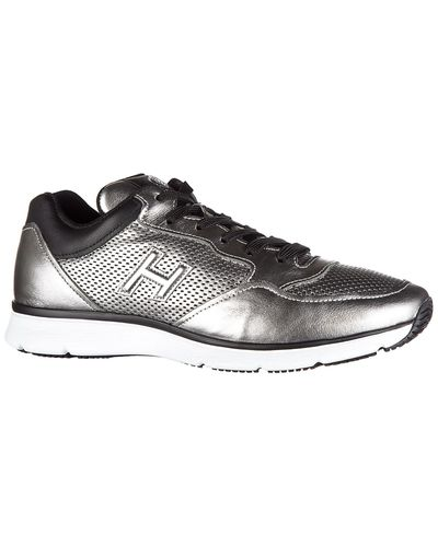Hogan Shoes Leather Trainers Sneakers H254 T2015 H 3d Forato in ...