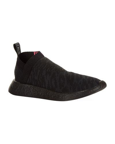 adidas Originals Nmd Cs2 Primeknit Trainers in Black for Men - Lyst