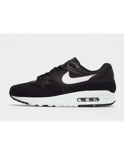Nike Leather Air Max 1 Essential in Black/White (Black) for Men - Lyst