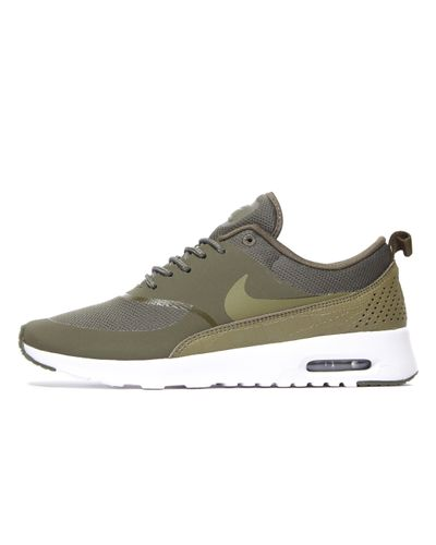 Nike Synthetic Air Max Thea in Khaki/Olive (Green) - Lyst