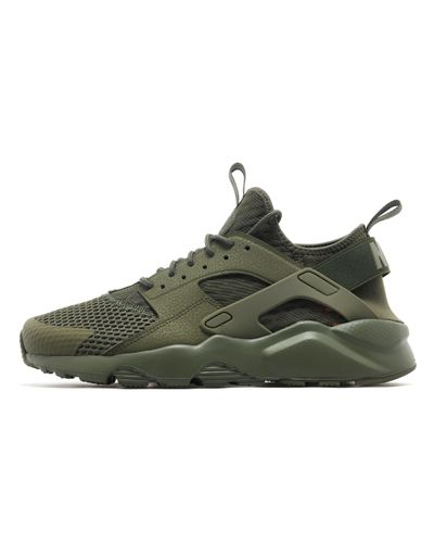 Nike Neoprene Huarache Run Ultra 'breathe' in Olive Green (Green ...