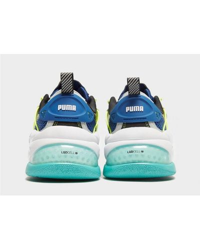 PUMA Suede Lqdcell Omega in Blue for Men - Lyst