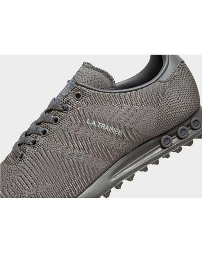 adidas Originals Synthetic La Trainer Woven in Grey (Gray) for Men ...