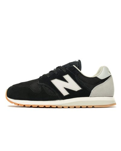 New Balance Synthetic 520 Vintage in Black/Grey (Black) for Men - Lyst