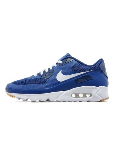 Nike Leather Air Max 90 Ultra Essential in Blue for Men - Lyst