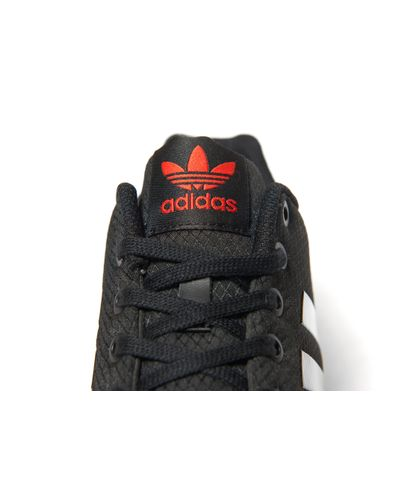 adidas Originals Synthetic Zx Flux Ripstop in Black for Men - Lyst
