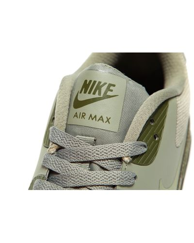 Nike Leather Air Max 90 Ultra Essential 2.0 in Green for Men - Lyst