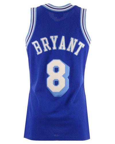 Mitchell & Ness Synthetic Kobe Bryant Los Angeles Lakers Authentic ...