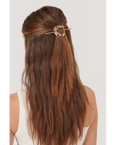 NA-KD Hair Beads in White - Lyst