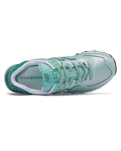 New Balance Felt New Balance 574 Sheen Pack Shoes - Lyst