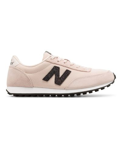 New Balance 410 70s Running Suede in Pink - Lyst