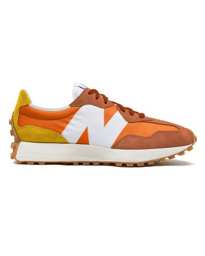 Homme 327 Synthétique New Balance pour homme en coloris Orange - Lyst