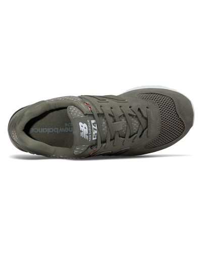 New Balance Rubber 574 All Day Rose in Olive (Green) - Lyst