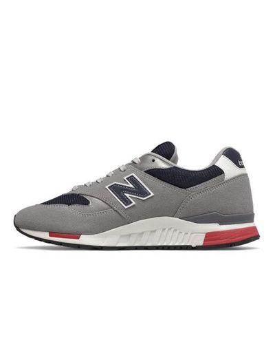 840 Chaussures Caoutchouc New Balance pour homme en coloris Gris ...