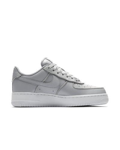 Scarpa Air Force 1 Low Glitter di Nike in Grigio - Lyst