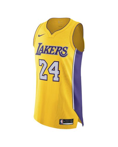 Nike Kobe Bryant Icon Edition Authentic (los Angeles Lakers) Nba ...