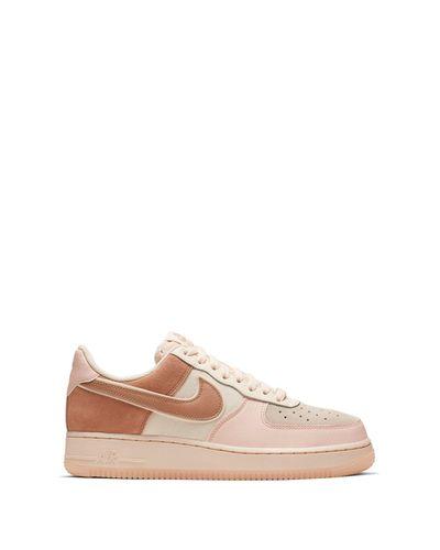 Nike Velvet Air Force 1 '07 Premium Sneaker in Pink - Lyst