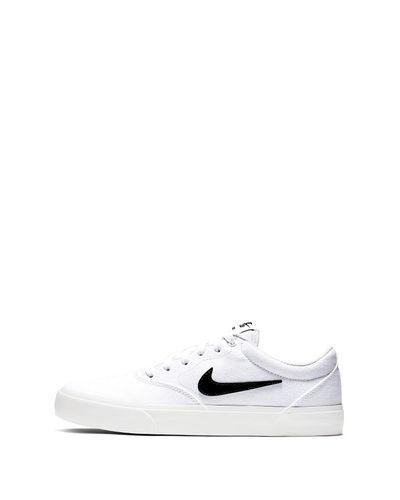 Nike Canvas Sb Charge Slr Sneaker in White for Men - Lyst