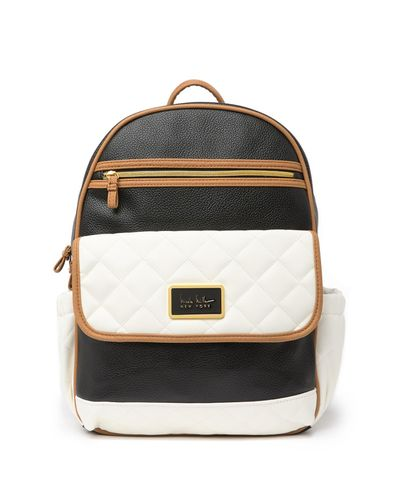 Deadstock quilted backpack