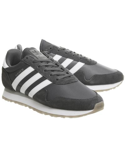 adidas Suede Haven Trainers in Grey (Gray) for Men - Lyst