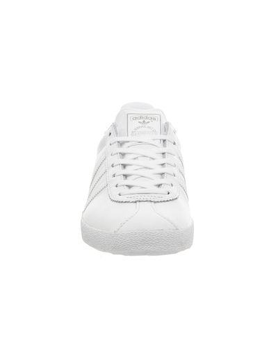 adidas Leather Gazelle Og in White for Men - Lyst