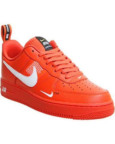 Nike Air Force 1 Utility in Red for Men - Lyst