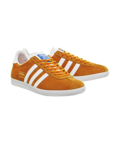 adidas Suede Gazelle Og in Orange - Lyst