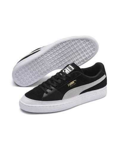 PUMA Suede Skate Sneakers in Black for Men - Lyst