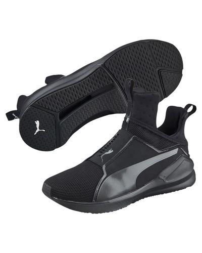 PUMA Rubber Fierce Core Training Shoes in Black - Lyst