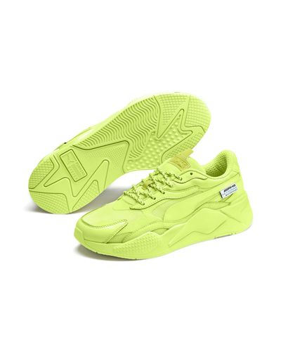 PUMA Synthetic Mercedes Amg Petronas Rs-x3 Sneakers in Green for ...