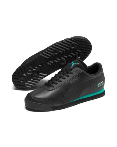 PUMA Leather Mercedes Amg Petronas Roma Men's Sneakers in White ...
