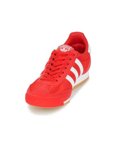 adidas 's Dragon Og Trainers in Red for Men - Lyst