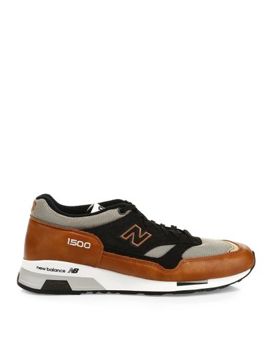 New Balance 1500 Made In Uk Leather Sneakers in Tan Beige (Brown ...