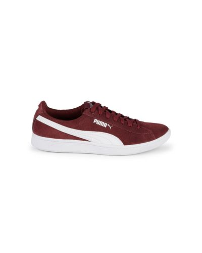 PUMA Suede Unisex Adults' Icra Trainer Sd Low-top Sneakers in Red ...