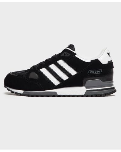 adidas Originals Synthetic Zx 750 in Black for Men - Lyst