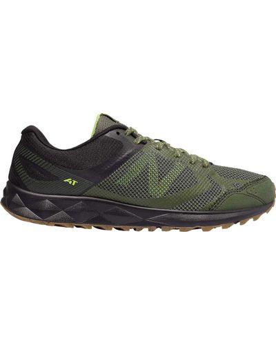 New Balance Rubber Mt590v3 Trail Running Shoe in Green for Men - Lyst