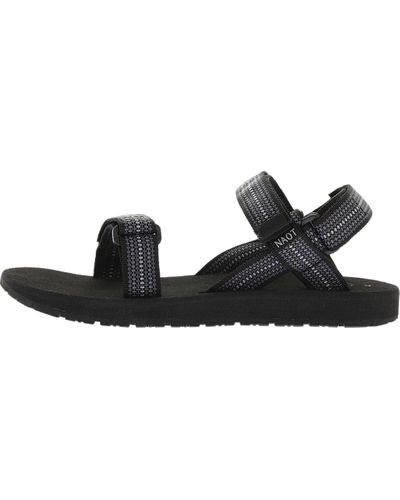 NAOT Men/'s Haven Active Sport Sandals Chess Black