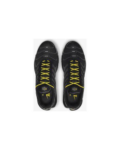 Baskets Air Max Plus Tn Chaussures Nike pour homme en coloris Noir ...