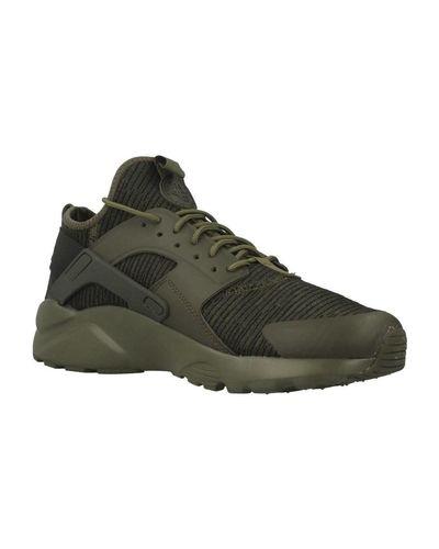 Nike Air Huarache Run Ultra Men's Shoes (trainers) In Green for ...