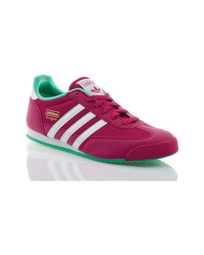 Adidas Dragon J Women's Shoes (trainers) In Pink