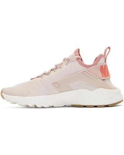 Nike Pink Air Huarache Run Ultra Premium Sneakers - Lyst