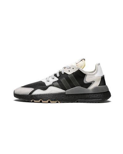 Adidas Nite Jogger 'grey Pack - Core Black/carbon' Shoes - Size 8.5 for men
