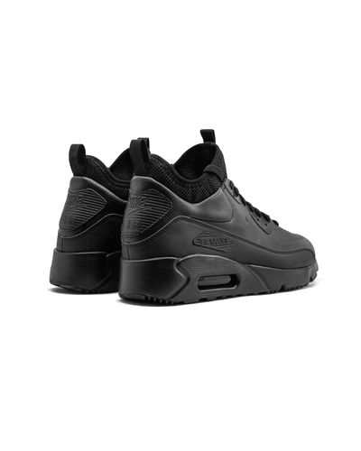 Nike Air Max 90 Ultra Mid Winter in Black for Men - Lyst