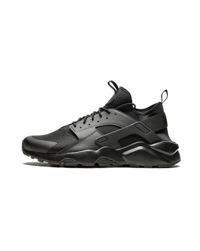 Nike Air Huarache Run Ultra Black/black Running Shoes 819685-002 Size 9.5 for men