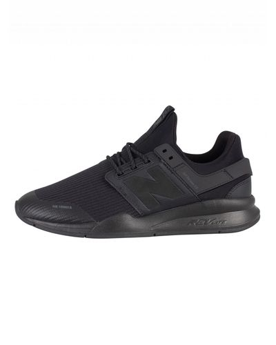 New Balance Lace Black 247 Version 2.0 Trainers for Men - Lyst