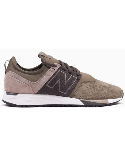 New Balance 247 Luxe Olive in Olive/Military Green (Green) for Men ...