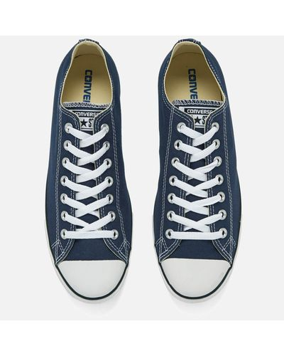 Converse Men's Chuck Taylor All Star Lean Ox Trainers in Navy (Blue)